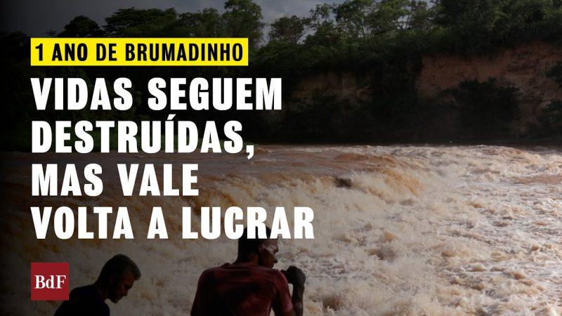 UM ANO DO CRIME DE BRUMADINHO: VIDAS SEGUEM DESTRUÍDAS, MAS VALE VOLTA A LUCRAR