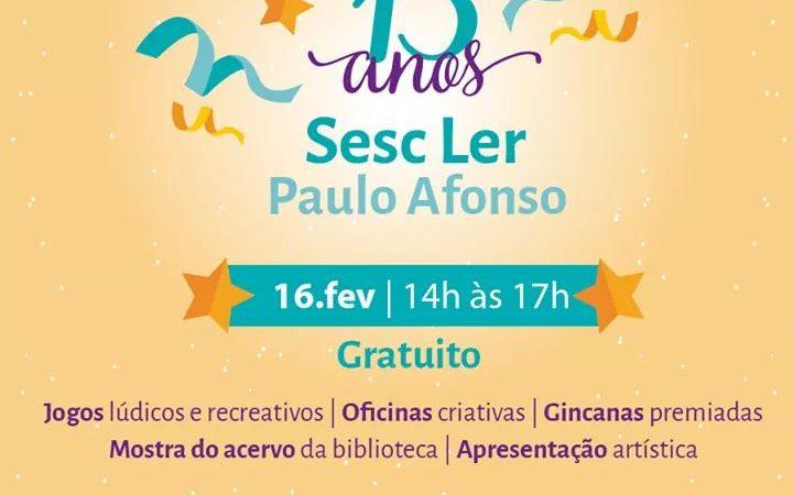 13AnosSescLerPauloAfonso