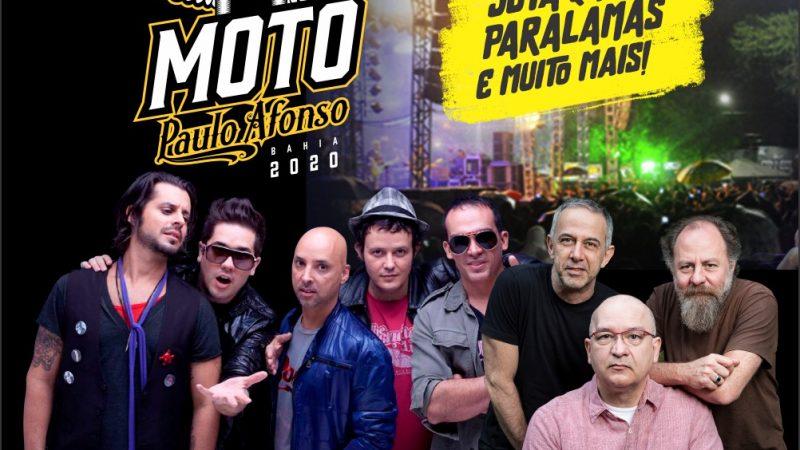 Jota Quest e Paralamas fazem parte do Moto Paulo Afonso 2020
