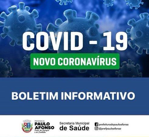 BOLETIM INFORMATIVO COVID-19 (16/03/2020)