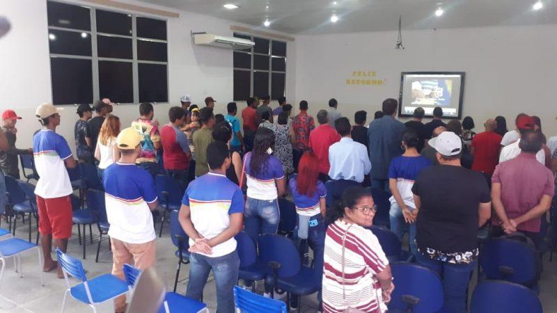 Cursos profissionalizantes beneficia mais 102 pessoas