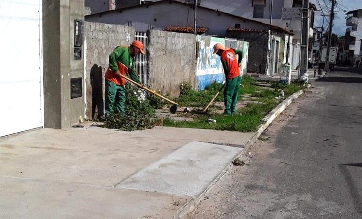 Calendário de limpeza continua em diversas localidades
