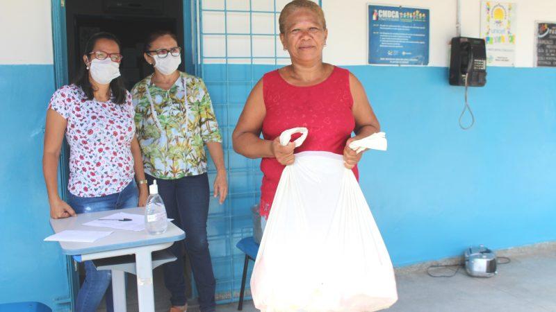 Seduc realiza segunda etapa da entrega de kits de merenda escolar