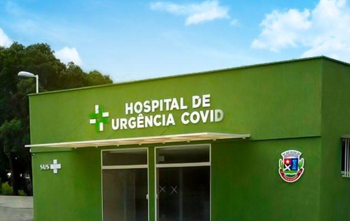 Prefeitura entrega Hospital de Urgência Covid -19 nesta quarta-feira (29)