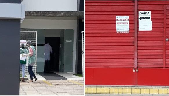Coronavírus: Clínica e loja de construção têm atividades suspensas temporariamente em Paulo Afonso