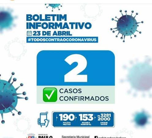 Prefeitura confirma segundo caso de Covid-19 e Transmissão comunitária em Paulo Afonso
