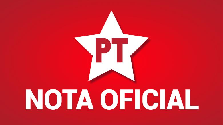 Nota Oficial do PT – Partido dos Trabalhadores de Paulo Afonso