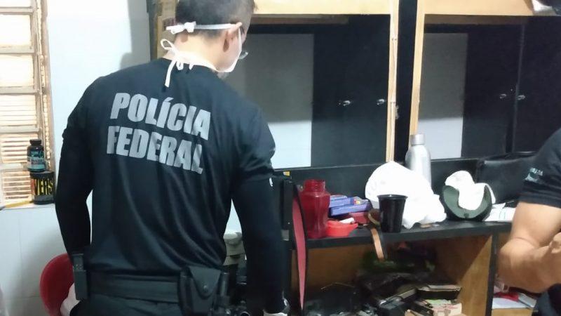 MP e Polícia Federal cumprem mandados de busca e apreensão em Paulo Afonso