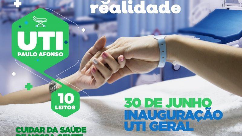 UTI do HMPA será entregue em 30 de junho