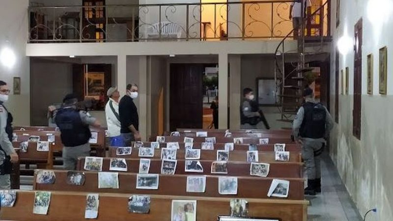 Criminosos invadem igreja e levam dinheiro do dízimo