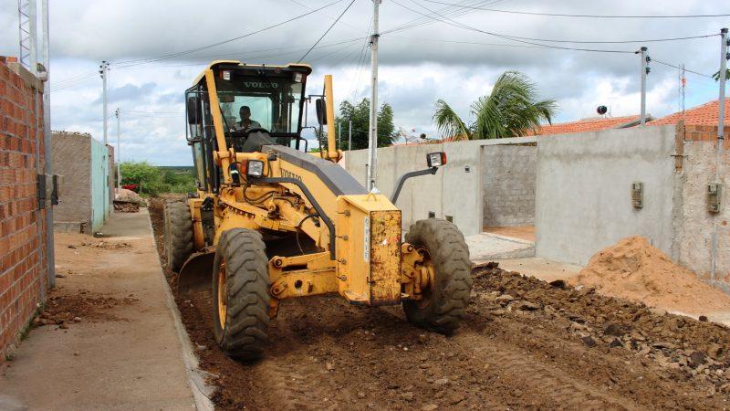 Conjunto Habitacional Dom Mário Zanetta tem ruas asfaltadas pela Prefeitura