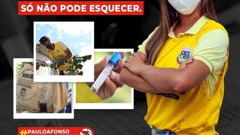 Ações emergenciais de limpeza e prevenção à dengue seguem sendo realizado em Paulo Afonso