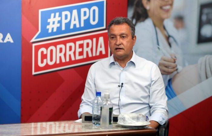 Rui Costa prorroga decreto que proíbe aulas e eventos na Bahia por mais 15 dias