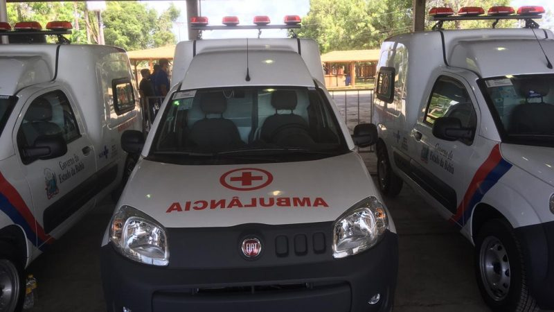 Paulo Afonso recebe mais uma ambulância do Governo do Estado
