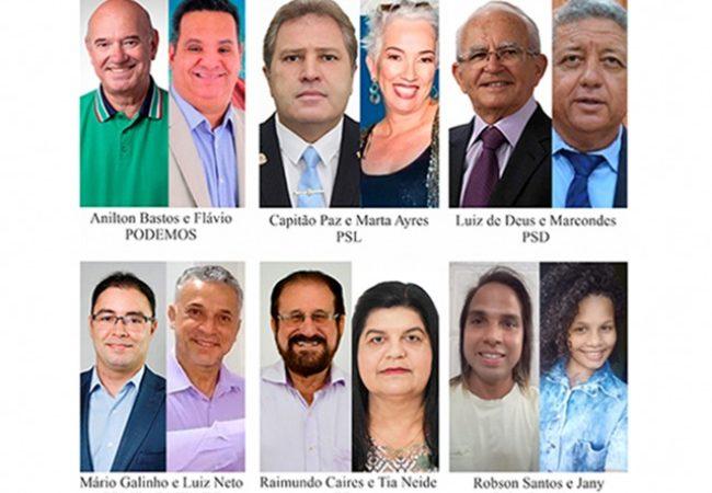 Paulo Afonso tem 6 candidatos a prefeito. Três mulheres estão indicadas para vice-prefeitas