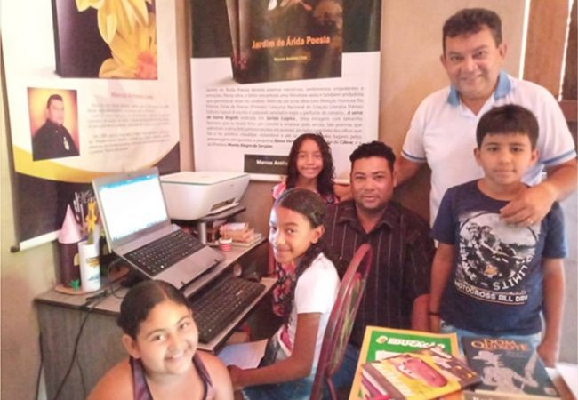 Acadêmico da ALPA e da ASLA implanta Projeto Manhã Literária em Santa Brígida