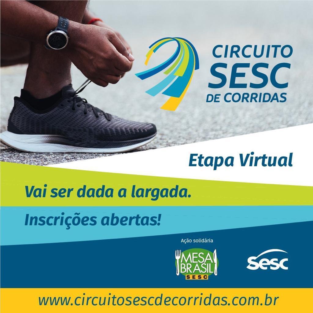 Circuito Sesc de Corridas – Etapa Virtual