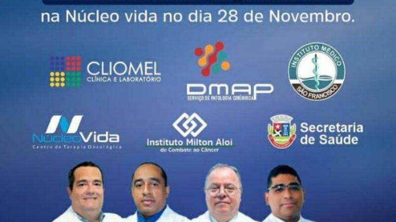 Programação Novembro Azul na prevenção ao câncer de próstata terá dia especial neste sábado (28)
