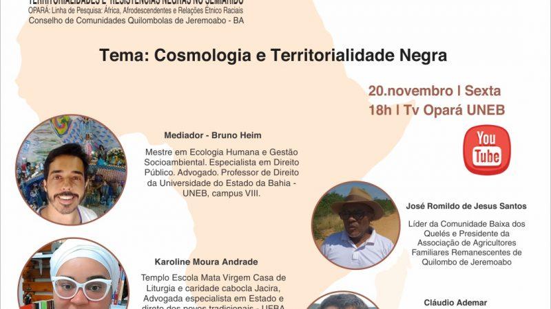 NOVEMBRO NEGRO – Bate-papo Afrobrasileiro – sexta 20/11 18hs no Youtube
