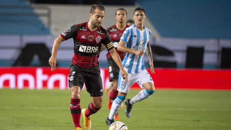 Flamengo encara Racing da Argentina por vaga nas quartas da Libertadores