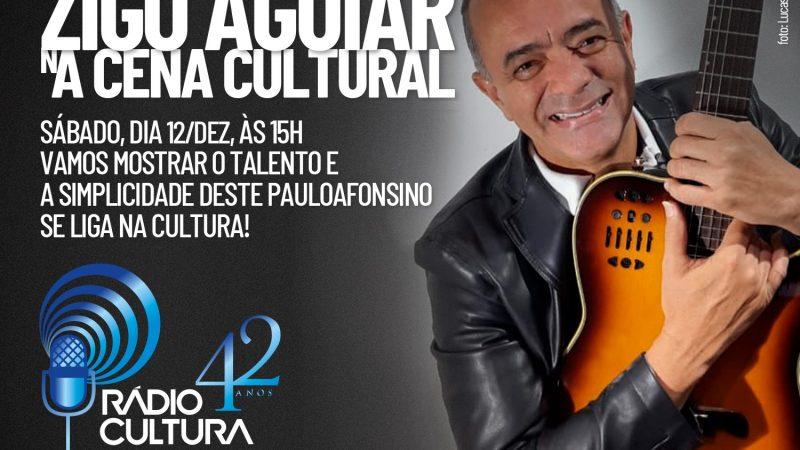 Hoje (12) no programa Cena Cultural da Rádio Cultura