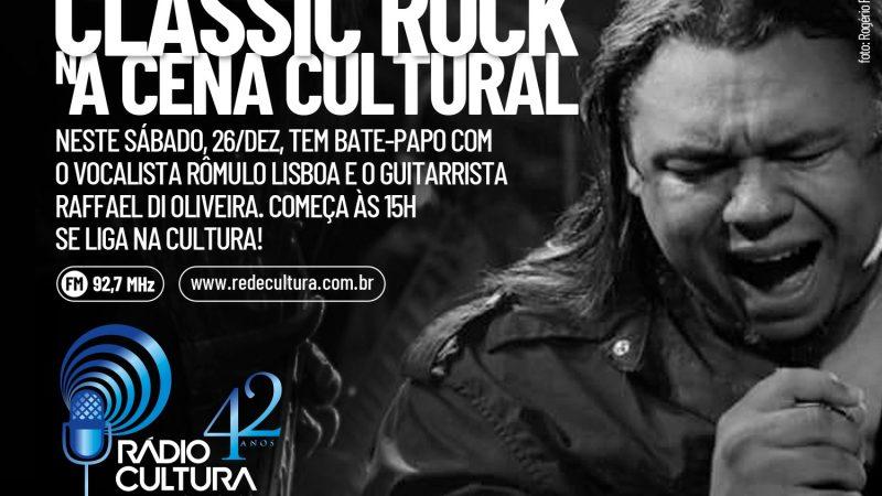 Agenda: Bate-papo com o vocalista Rômulo Lisboa e guitarrista Raffael di Oliveira na rádio Cultura