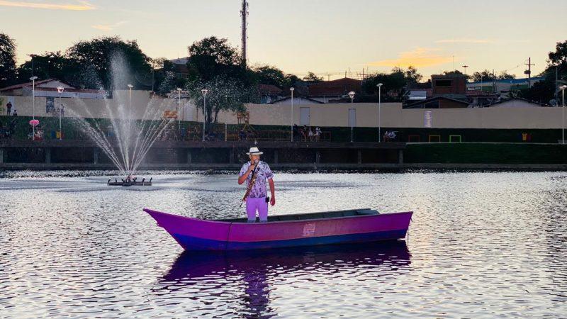 Projeto Música em Ação – Pôr do Sol Lago da Aurora foi um sucesso