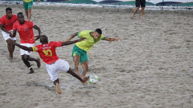 Brasil vai em busca da final do Mundial de Futebol de Areia Raiz