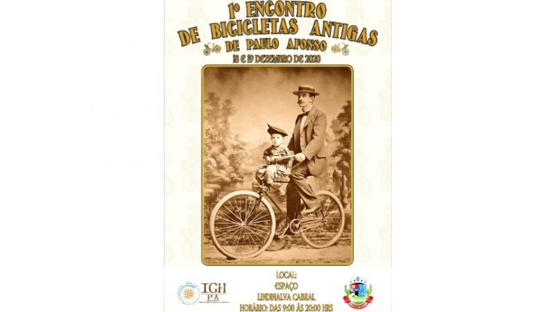 Paulo Afonso terá o 1° Encontro de Bicicletas Antigas