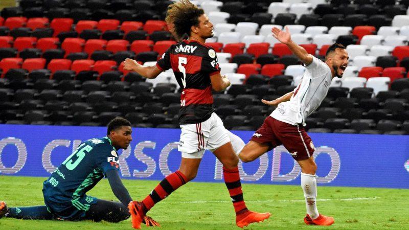 Com gol no fim, Fluminense vence Flamengo no Maracanã