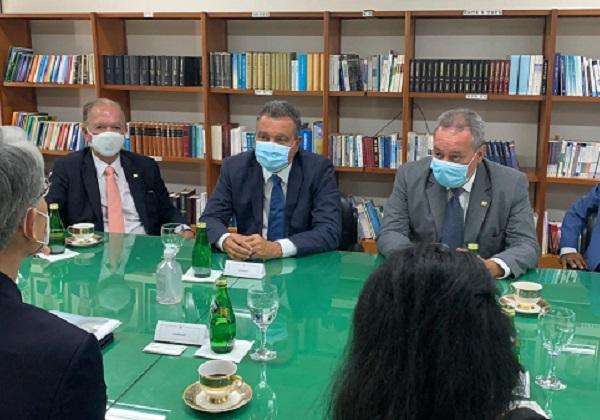 Com embaixadores, Rui busca atrair nova indústria automobilística e mais oportunidades para a Bahia
