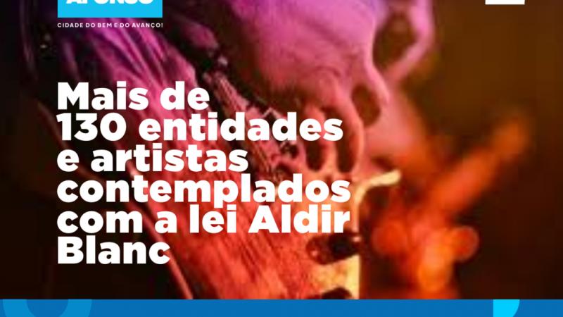 Prefeitura divulga lista de artistas e entidades de Paulo Afonso contemplados com a Lei Aldir Blanc e lança calendário de atividades