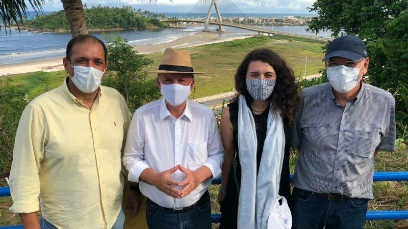 Grupo francês visita áreas para potenciais investimentos no Sul da Bahia