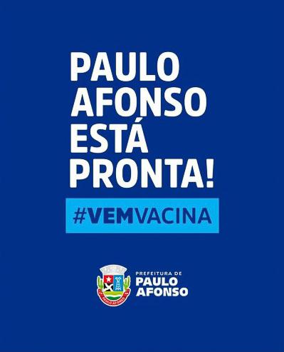 Paulo Afonso está pronta pra iniciar vacinação nesta terça
