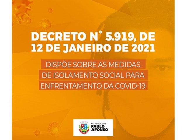 Decreto reforça medidas restritivas, rigor na fiscalização e sanção nos estabelecimentos que descumprirem normas