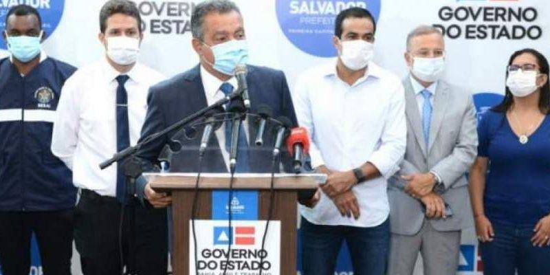 Rui Costa determina que envio da vacina Oxford para interior da Bahia seja imediato; lote chega nesta manhã em Salvador