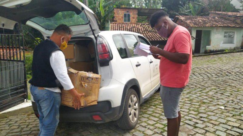 Governo entrega mais 10 mil máscaras para povos e comunidades tradicionais da Bahia