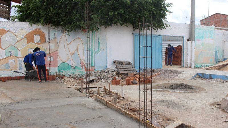 Escola Manoel de Almeida Kasprzykowsky recebe obras de ampliação em sua estrutura
