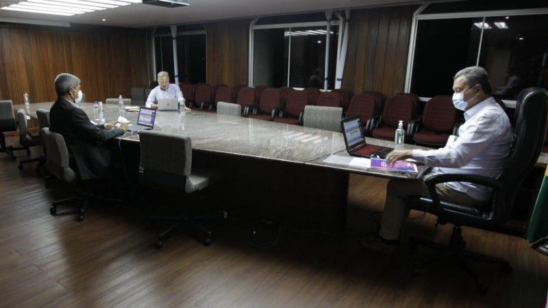 """""""Queremos o retorno das aulas, mas o momento não está fácil"""", diz Rui em reunião com prefeitos"""
