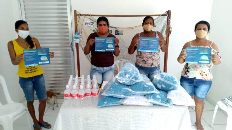 Pescadores e marisqueiras recebem mais 10 mil máscaras do Governo da Bahia