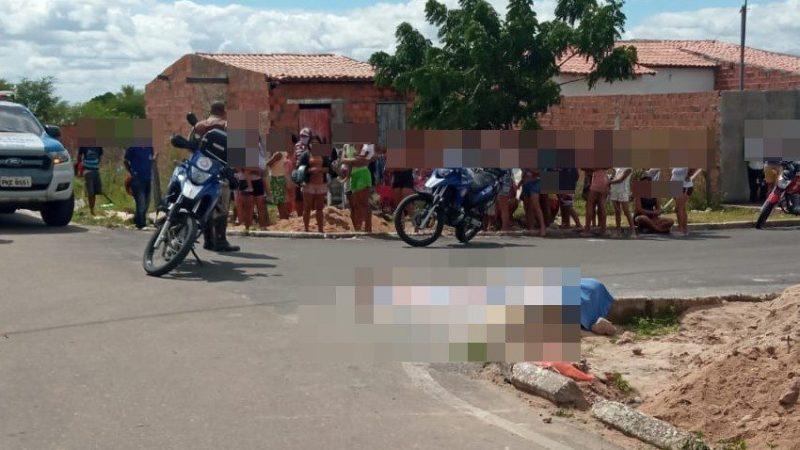 Acusado de assassinar a vizinha no Benone se entrega a policia