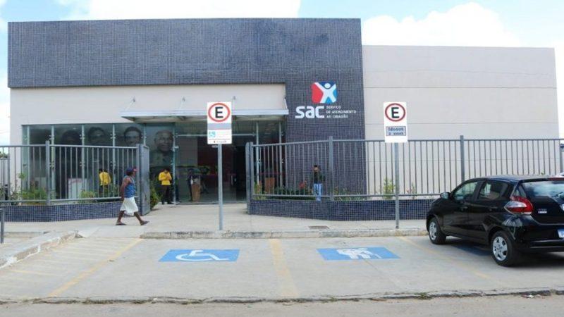 Postos SAC suspendem atendimento nesta segunda (1º) e terça-feira (2)